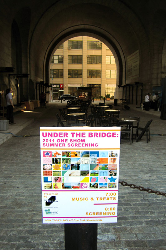 Under the Bridge: 2011 One Show Summer Screening