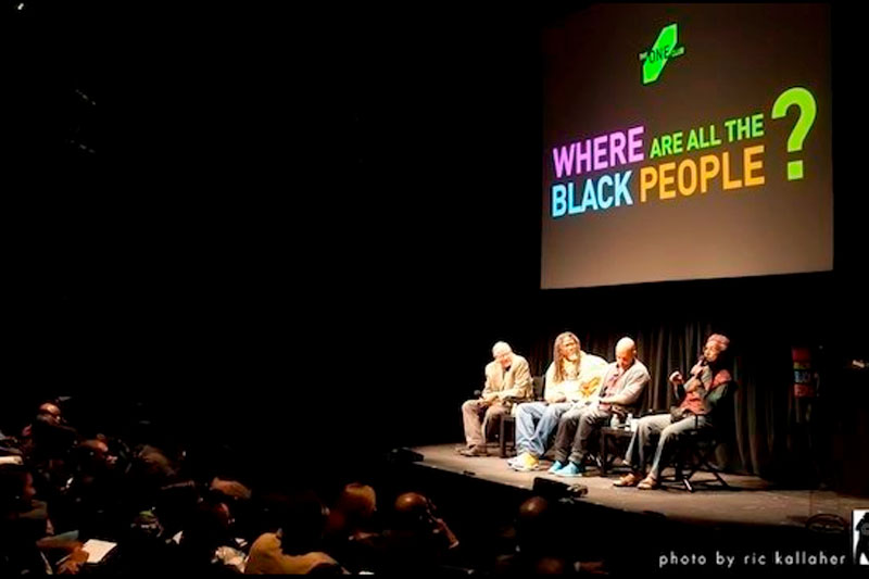 Where Are All The Black People? A Creative Career Fair