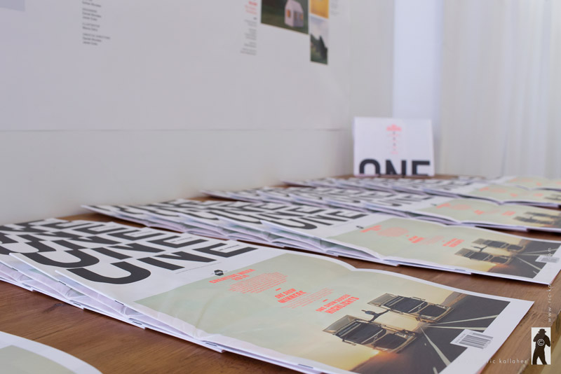 One. A Magazine Relaunch Party