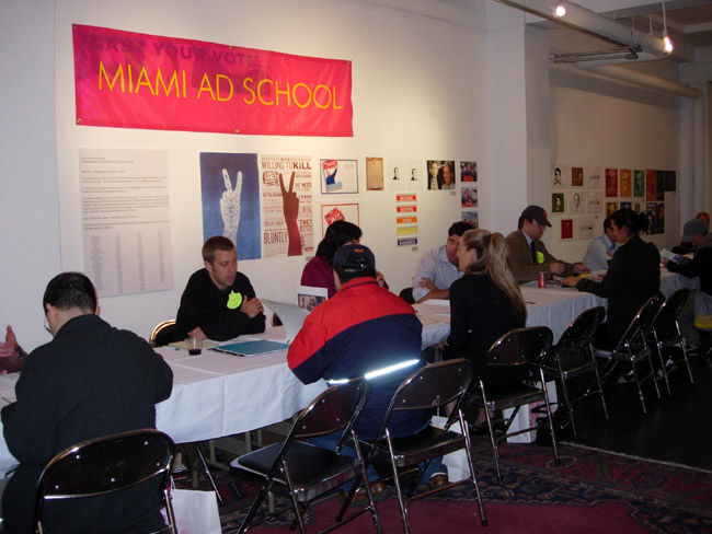 Miami Ad School Portfolio Review