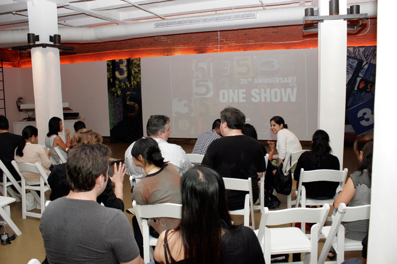 2010 One Show Winners Screening at the Xchange